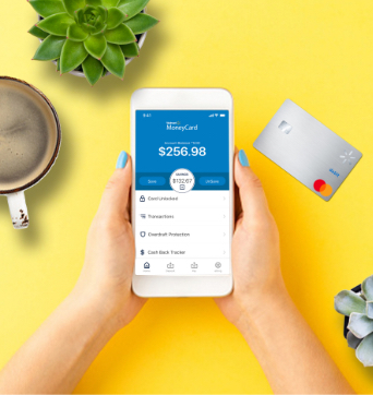 Manage your money on the Walmart MoneyCard Mobile App